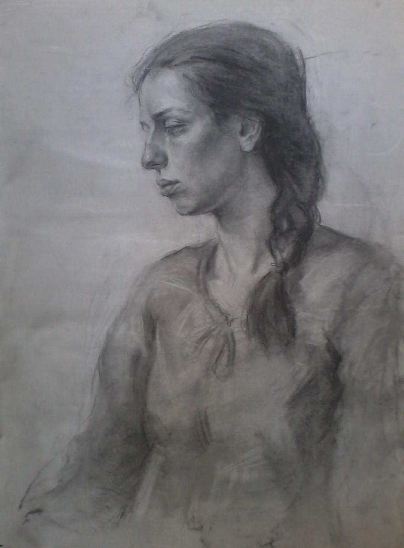 Jente tegning